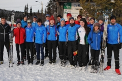 Provincial Team at Menihek Nordic December 2017