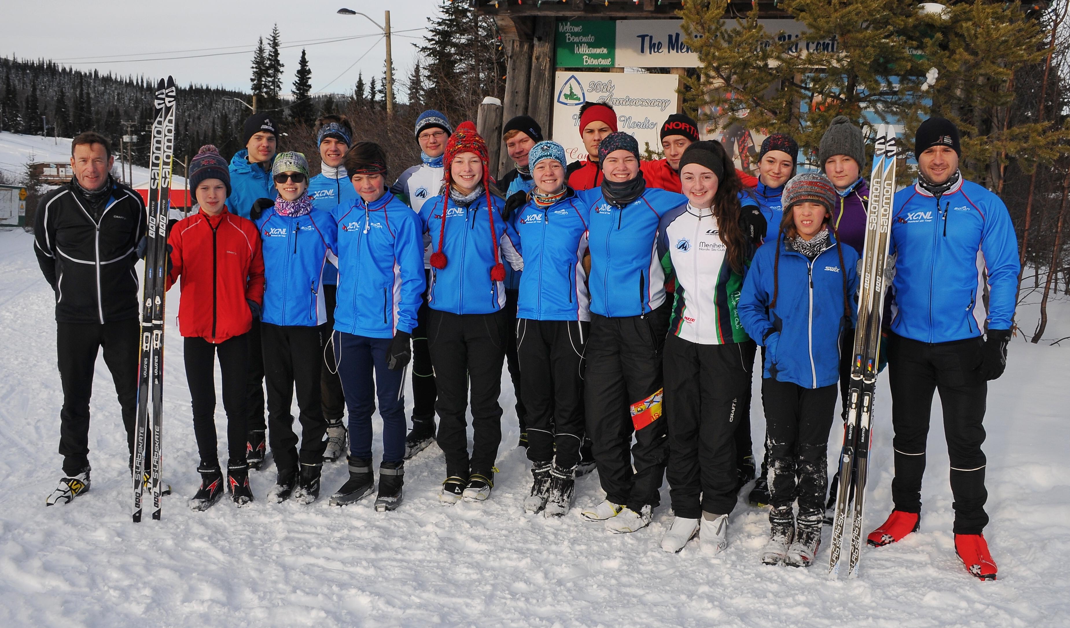 Provincial Team at Menihek Nordic December 2017