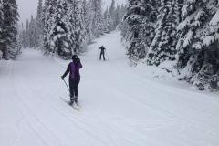 Skiing Menihek Nordic
